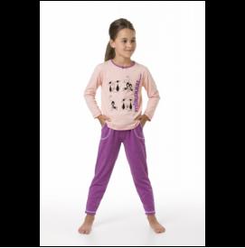 Modelis Miau peach-violet