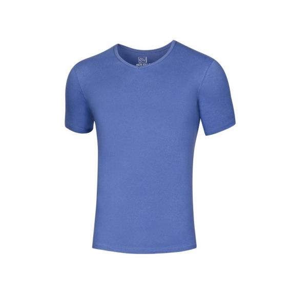 Vyriški trumparankoviai marškinėliai V formos iškirpte