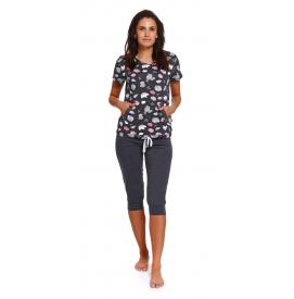 Moteriška pižama PM 4225GRAPHITE