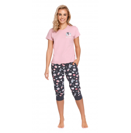 Moteriška pižama PM 4218PAPAYA