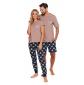 Vyriška pižama PMB 4245BEIGE