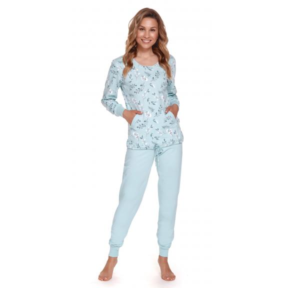 Moteriška pižama PM 4355 POOL BLUE