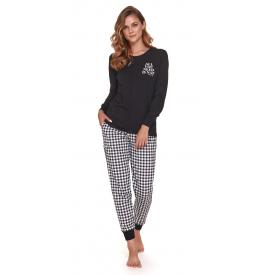 Moteriška pižama PM 4344 BLACK