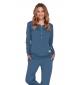 Moteriška pižama PM 4349 DEEP BLUE