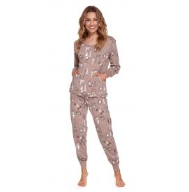 Moteriška pižama PM 4322 BEIGE