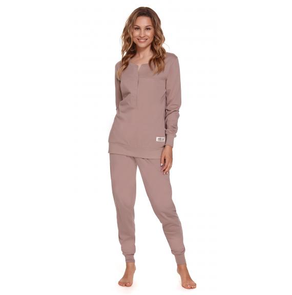 Moteriška pižama PM 4349 BEIGE