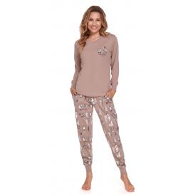 Moteriška pižama PM 4340 BEIGE