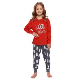 Vaikiška pižama PDU 4311 SPRUCE RED