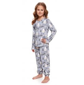 Vaikiška pižama PDU 4170 GREY BEAR
