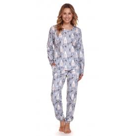 Moteriška pižama PM 4168 GREY BEAR